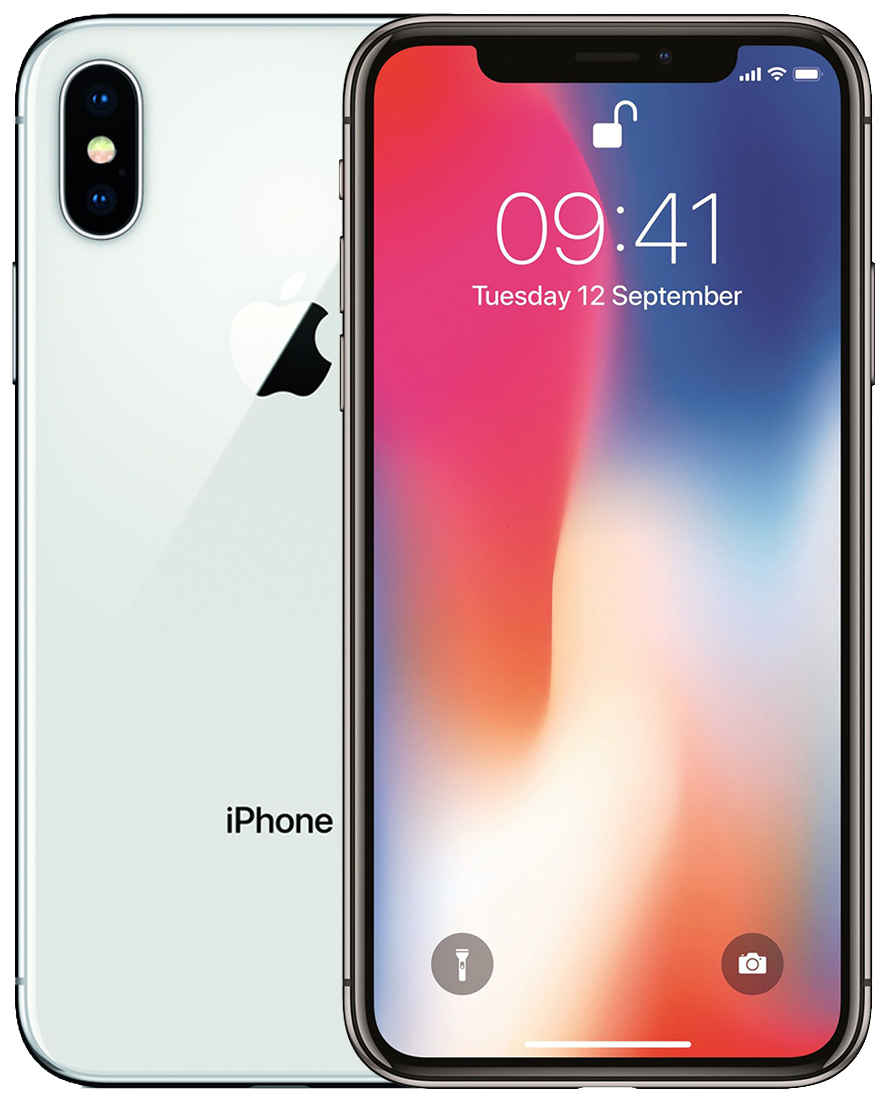 iphone x 256 silver