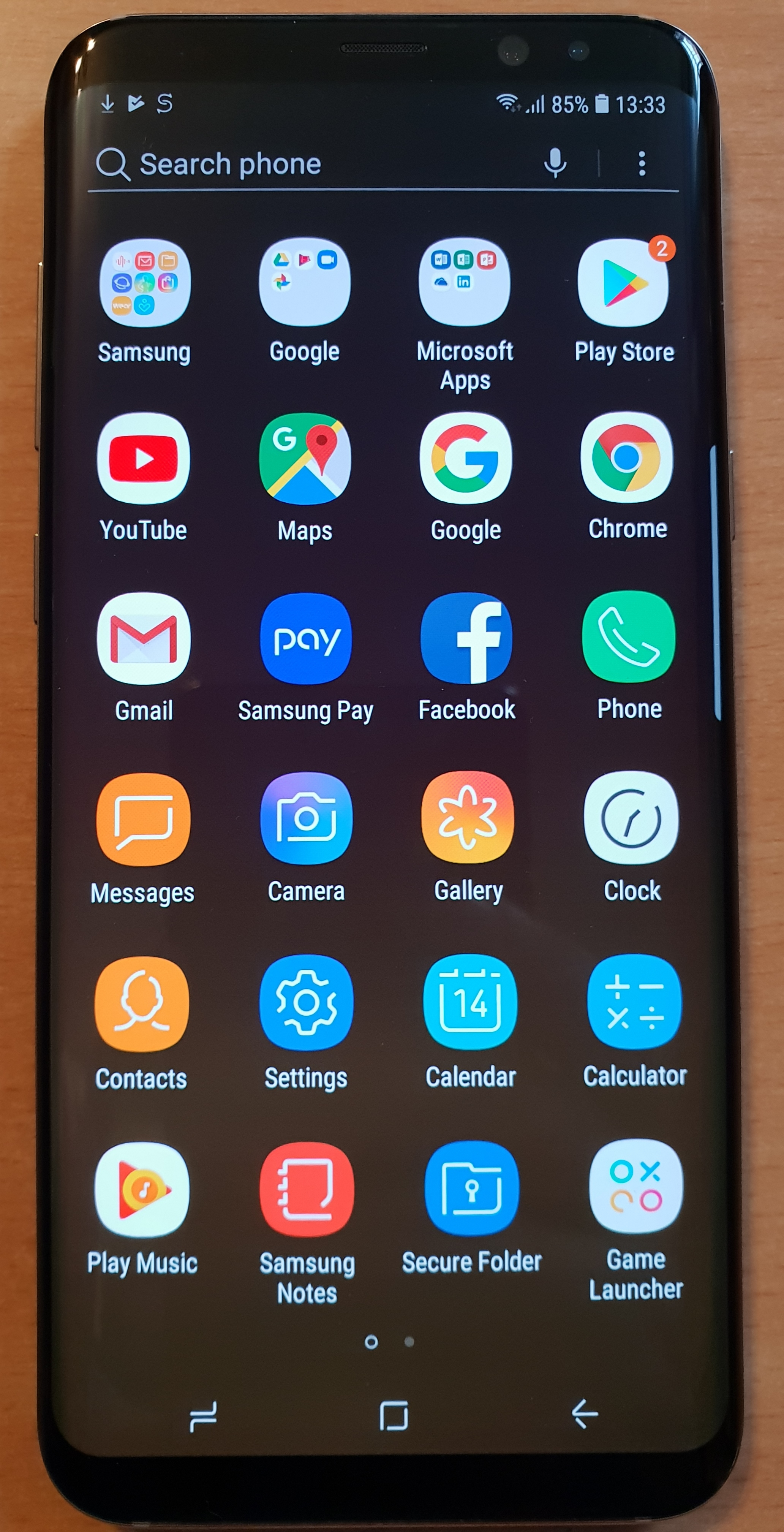 Just In - Boxed Samsung Galaxy S8 PLUS D-SIM 64GB Maple Gold