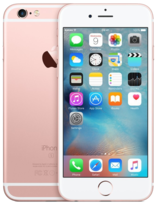 Apple iPhone 6S Rose Gold 128GB - Locked to Network