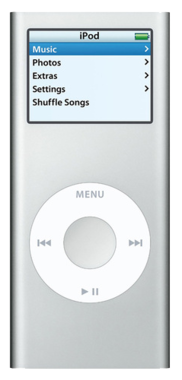 Apple iPod Nano 2nd Gen - 2GB - Silver