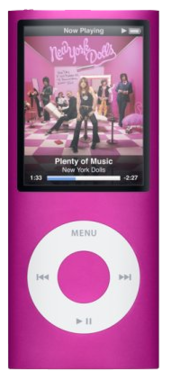 Apple iPod Nano 4th Gen - 8GB - Pink