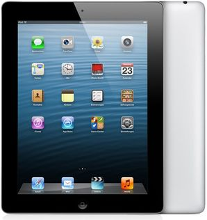 Apple iPad 4 - 128GB - Wi-Fi & Cellular (Locked)