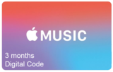 Apple Music Subscription - 3 Months (Digital Product)
