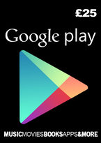 Google Play Gift Card - £25 (Digital Product)
