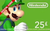 Nintendo E-Shop Top Up - £25 (Digital Product)