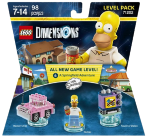 LEGO Dimensions: Level Pack - The Simpsons