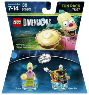 LEGO Dimensions - The Simpsons - Krusty Fun Pack
