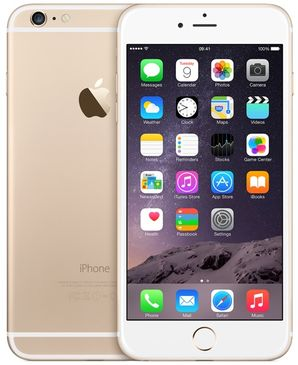 Apple iPhone 6 Plus - 16GB Gold - Locked to Network