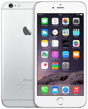 Apple iPhone 6 Plus - 128GB Silver - Locked to Network