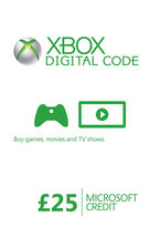 Xbox Live Credit (Digital Product) - £25