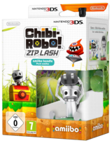 Chibi Robo Zip Lash with amiibo