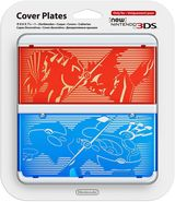New Nintendo 3DS Coverplate - Pokemon (Ruby/Sapphire)