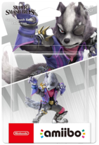 Amiibo - Super Smash Bros - Wolf