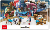 Amiibo - Zelda: Breath of the Wild - Champions 4 Pack