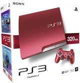 PlayStation 3 320Gb Slim Model - Scarlet Red (2 Controllers)