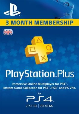 PlayStation Plus - 90 Day Subscription (Digital Product)