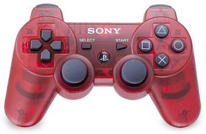 Sony PS3 Dual Shock Controller Crimson Red