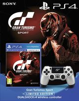 GT Sport Bundle with Game and Limited Edition Dual Shock 4