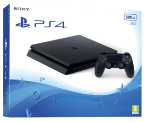 Sony Playstation 4 Slim Console - 500GB