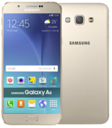 Samsung Galaxy A8 Duos - 32GB - Gold - Locked