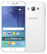 Samsung Galaxy A8 Duos - 32GB - White - Locked