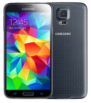 Samsung Galaxy S5 Plus - 16GB Black - Locked