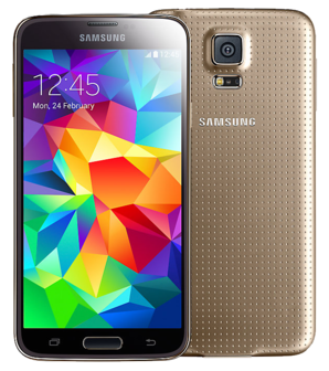 Samsung Galaxy S5 Plus - 16GB Gold - Locked