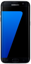 Samsung Galaxy S7 EDGE - 32GB Black Onyx - Locked