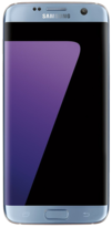 Samsung Galaxy S7 EDGE - 32GB Coral Blue - Locked