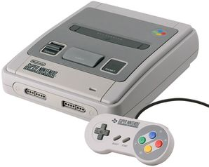 Super Nintendo Entertainment System (SNES) Console