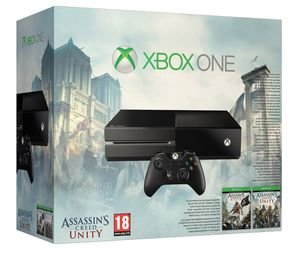 Xbox One Console - No Kinect (Assassins Creed DLC Bundle)